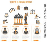 crime and punishment vector... | Shutterstock .eps vector #397626010