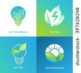 vector logo design template in...   Shutterstock .eps vector #397628248