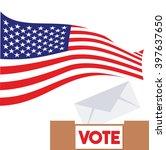 united states of america... | Shutterstock .eps vector #397637650