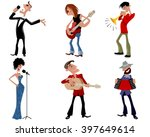 vector illustration of a six... | Shutterstock .eps vector #397649614