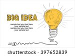 big idea concept background... | Shutterstock .eps vector #397652839