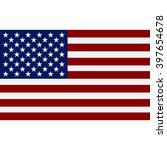 american  flag | Shutterstock . vector #397654678