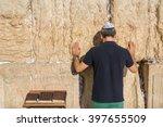 Jewish Tourist Prays In The...