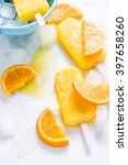 refreshing popsicle  fruit... | Shutterstock . vector #397658260