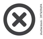 cross icon jpg | Shutterstock .eps vector #397659694