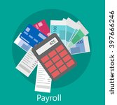 payroll icon | Shutterstock . vector #397666246