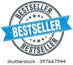 bestseller blue round grunge... | Shutterstock .eps vector #397667944