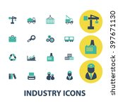 industry icons  | Shutterstock .eps vector #397671130