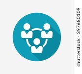 teamwork vector icon | Shutterstock .eps vector #397680109