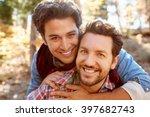 Portrait Of Gay Male Couple...
