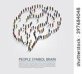 People Symbol Brain  People...