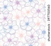 Floral Seamless Pattern Flower...