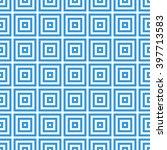 greek key seamless pattern... | Shutterstock .eps vector #397713583