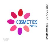 logo nails for business. nail... | Shutterstock .eps vector #397728100