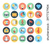business   finance vector icons ... | Shutterstock .eps vector #397737904