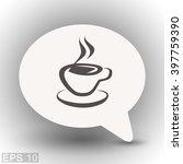 pictograph of cup | Shutterstock .eps vector #397759390