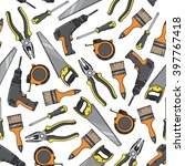 tools and electrical equipment... | Shutterstock .eps vector #397767418