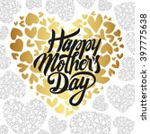 happy mothers day design... | Shutterstock .eps vector #397775638