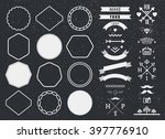 vector design template set ... | Shutterstock .eps vector #397776910