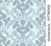 vector illustration. damask... | Shutterstock .eps vector #397780300