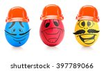 concept of easter egg with... | Shutterstock . vector #397789066