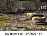 ukraine. chernobyl exclusion... | Shutterstock . vector #397809469
