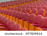 empty chairs in theatre or... | Shutterstock . vector #397809814