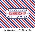 Retro Barber Shop Vintage...