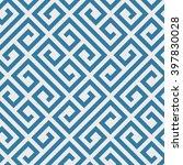 geometric seamless pattern.... | Shutterstock .eps vector #397830028