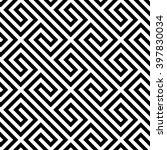 geometric seamless pattern.... | Shutterstock .eps vector #397830034