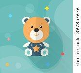 rag doll icon   vector flat... | Shutterstock .eps vector #397857676