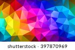 Colorful Triangular Abstract...
