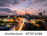 top view of colombo city at...   Shutterstock . vector #397876288