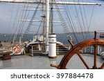 Steering Wheel And Deck Of A...