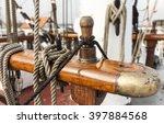Wooden Nails And Ropes  Bank O...