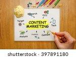 Businessman Writing Content...