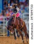 Mystery Cowboy Bucks On Wild...