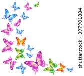 butterflies design   Shutterstock .eps vector #397901884