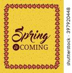 hello spring design    Shutterstock . vector #397920448