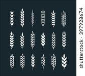 wheat ear | Shutterstock .eps vector #397928674