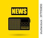 breaking news design  | Shutterstock .eps vector #397950850