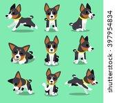 set of cartoon character... | Shutterstock .eps vector #397954834