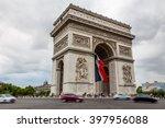 paris  france  july 26.2015  ... | Shutterstock . vector #397956088