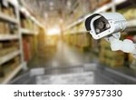 cctv camera system security in... | Shutterstock . vector #397957330