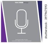 web icon. microphone  voice...