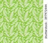 fern pattern   Shutterstock .eps vector #397972444