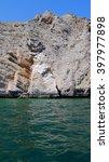 Rocky Shore In Persian Gulf