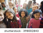 students children cheerful... | Shutterstock . vector #398002843