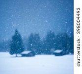 christmas winter background... | Shutterstock . vector #398004493