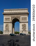 paris  france   june 12  2015 ... | Shutterstock . vector #398006410